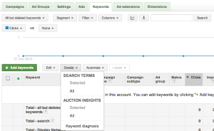 Adwords Search Query Report (SQR)